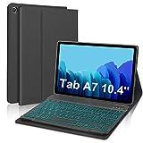 D DINGRICH Custodia con Tastiera per Tablet Samsung A7 10.4, Cover con...