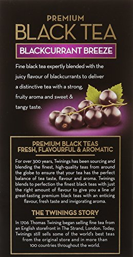 Twinings of London Blackcurrant Tea Bags, 20 Count