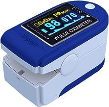 E T EASYTAO Oxímetro de Pulso de Dedo con Pantalla OLED, Monitor Digital de Frecuencia Cardíaca PR y Saturación de Oxígeno...