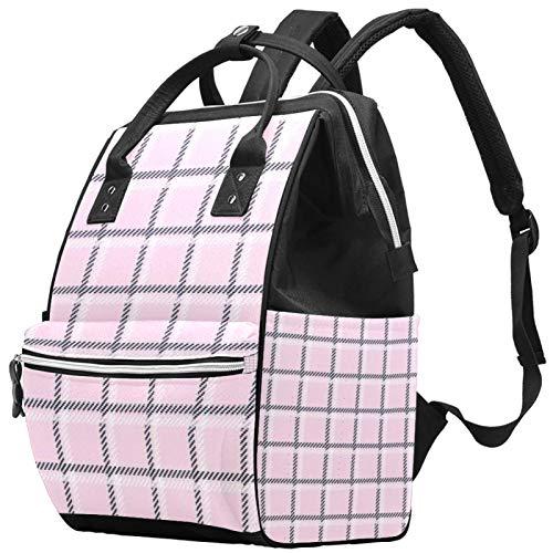 Tic Tac - Mochila de gran capacidad para pañales de bebé, bolsa de viaje para madres y papás