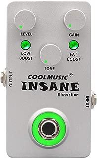 Coolmusic C-DI01 Insane Distortion Guitar Effects Pedal