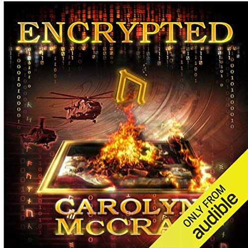 Encrypted audiobook cover art