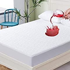 [YOUR ULTRA SOFT BAMBOO MATTRESS PROTECTOR EVER]SUPA MODERN WATERPROOF MATTRESS PROTECTORS are made of premium bamboo material. Best quality mattress pad covers ever for you to pretect your previous mattress! Environmentally friendly Bamboo fiber kee...