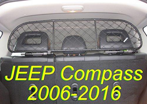 ERGOTECH Trennnetz Trenngitter Hundenetz Hundegitter für Jeep Compass