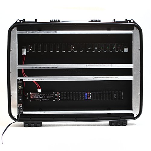 Great Features Of Synthrotek 7U 84HP Eurorack Case - Portable, Waterproof, Powered with Case Power G...