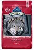 Blue Buffalo Wilderness High Protein Grain Free, Natural Adult Dry Dog Food, Salmon 11-lb, Model:840243105366