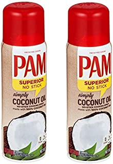 Pam Coconut Oil Spray (Pack of 2)