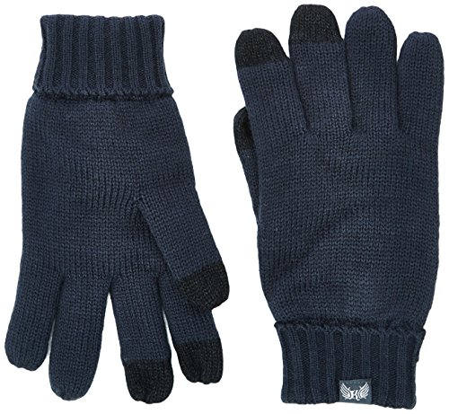 Kaporal LESTA Gants, Bleu (Navy), Small (Taille fabricant: 1) Homme^Homme