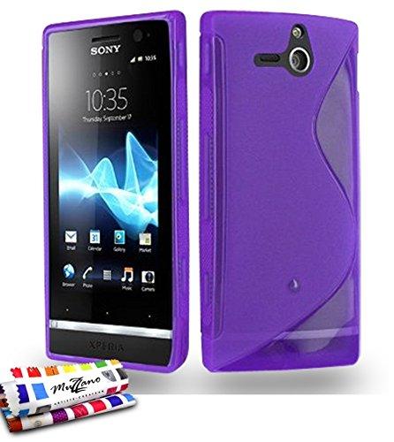 Muzzano F41S03-5462243 - Funda para Sony Xperia U, color violeta