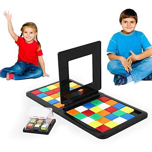 2020 Nieuwe magische blokken Interactieve bouwstenen voor kinderen Puzzel Bouwstenen Game Gift Snel tempo Strategie Volgorde Bordspel