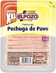 ElPozo Fiambre de Pechuga de Pavo, Lonchas, 250g