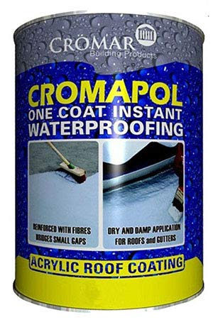 Cromapol | Acrylic Roof Coat | Waterproofing Roof Sealant | Fibre Reinforced |...
