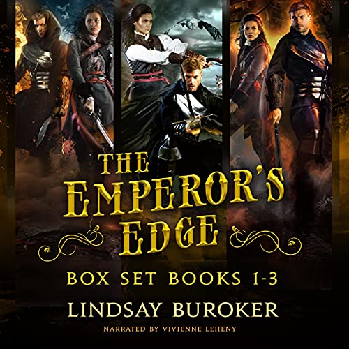 The Emperor's Edge Collection cover art
