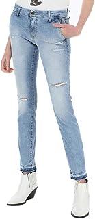 Please P07QBQ2P7T Blue Denim Jeans Mujer Azul y Denim