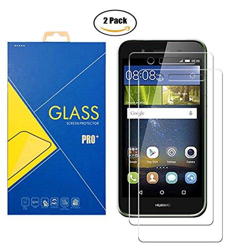 [2 Pack] Pellicola Vetro Temperato Huawei P8 Lite Smart   GR3   Enjoy 5S  TAG-L01   TAG-L03 - Schermo Antiurto AntiGraffio