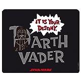 Star Wars - Alfombrilla para ratón - Darth Vader - It Is Your Destiny - 23 x 19 cm...