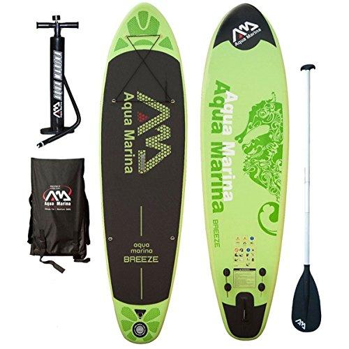 Aqua Marina Inflatable SUP Stand Up Paddle Boards Kit | Board, Pump,...