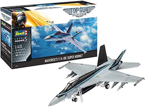Revell 03864 F/A-18E Super Hornet - Maqueta de avión (1:48, 38,1 cm, sin lacar)