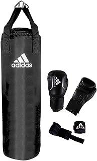adidas Set de Boxeo Performance, Negro, ADIBAC11KIT
