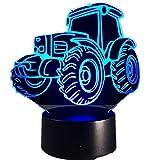 Motorisierte Traktor Auto dekorative Lichter Auto Form Lade Touch Schalter leuchtet Bunte Kinder...