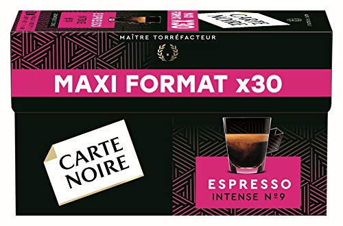 Carte Noire Café Expresso N°9 - 30 capsules compatibles Nespresso®*