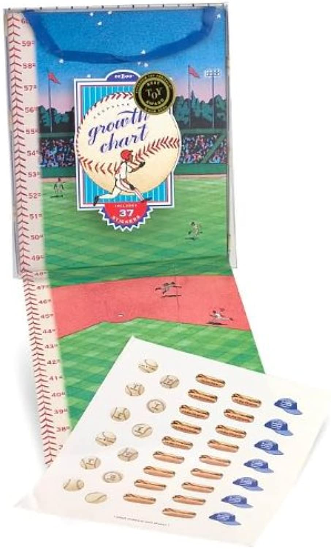 barato Eeboo Baseball Growth Chart by eeBoo eeBoo eeBoo  compras online de deportes