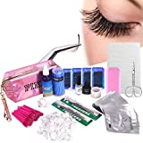 18 in 1 Eyelash Extension Kit, mcwdoit C Curl Eyelash False Lashes Strip