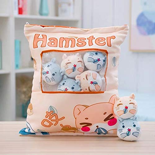 JMCT-DQ Almohada 8pcs 10cm Dulce Doll Toy JMCT-DQ (Color : 8pcs Hamster, Height : 30 45cm)
