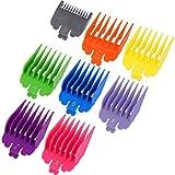 8 peines de guía para cortaúñas, 8 tamaños de repuesto para cortadoras de pelo y recortadoras