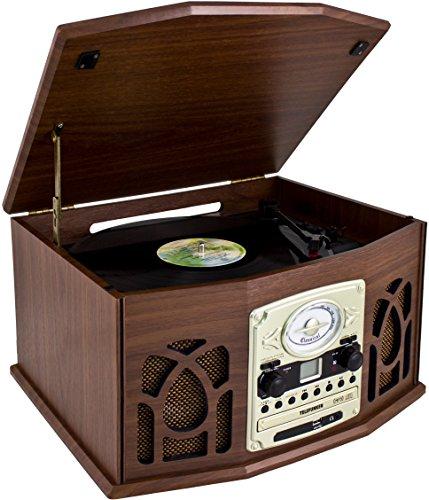 Telefunken TCD200M – Equipo de música con Tocadiscos (