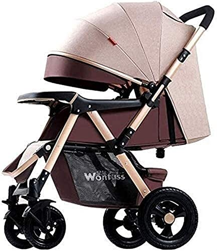 HTZ YQL Baby Strollers - Pushchair Lightweight for Holiday - Folding - Two Way Compact Travel Baby Buggies/Prams - Raincover/Windproof Warm Foot Cover/Five-Point Harness (Color : A) (Color : D)