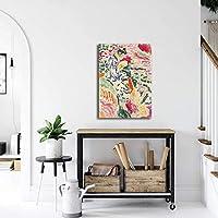 アンリ・マティス壁アート寝室リビング部屋装飾マティスポスターパネル家玄関フォーヴィスム画像壁装飾マティス絵画版画キャンバス Spt-T4-510
