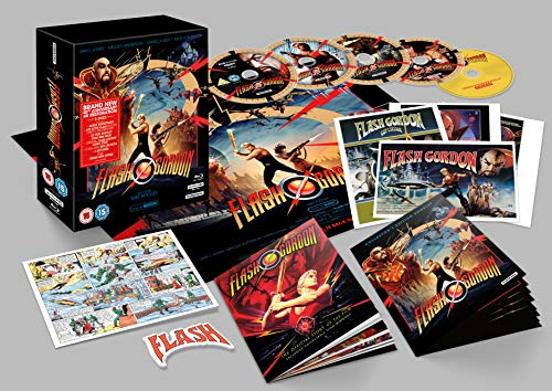 Flash Gordon (40th Anniversary) 4K UHD Collector's Edition [Blu-ray] [2020]