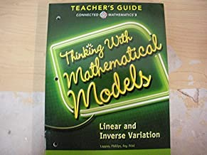 Connected Mathematics 3 TEACHERS GUIDE Grade 8: Thinking With Mathematical Models: Linear and Inverse Variation Copyright 2014