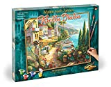 Schipper MNZ 609130814 Numbers Bella Italia Adults with Brush and Acrylic Paints 40 x 50 cm