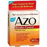 AZO Bladder Control, Capsules 72 ea
