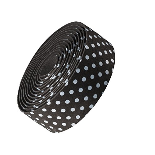 Bontrager Cork Gel Fahrrad Lenkerband dots schwarz