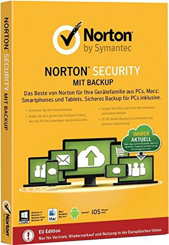 Norton Security Premium + Backup 25 GB | 10 Dispositivos | 1 Año | ESD | Descargar | Email