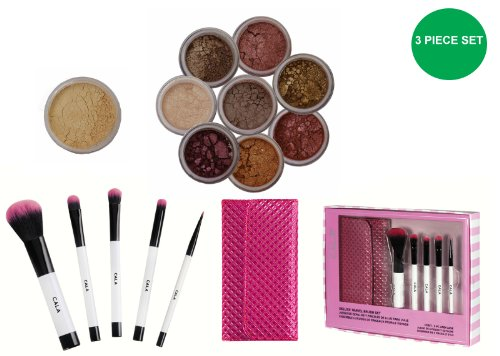 ITAY Mineral lumineux, lumineux, Flawless Finish Fond de teint MF2 French Vanilla + 8 pile Scintille dans \