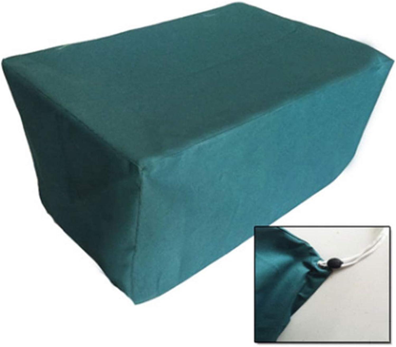 GDMING Gartenmbel Abdeckplane Schutzhülle Für Undurchlssig Tisch Und Stuhl Tiefes Sitzsofa Sessel Schnalle Anziehen Leicht Zu Falten Oxford Tuch, 27 Gren (Farbe   Blau, Größe   130x130x90cm)
