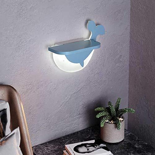 SYyshyin Dormitorio Led Lámpara de Pared de Fondo de la Lámpara de Pasillo de la Habitación de los Niños Decoración de la Lámpara