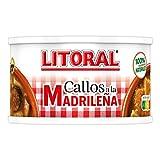 LITORAL Plato Preparado de Callos Madrileña, Sin Gluten, 380g