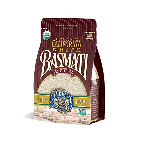 Lundberg Family Farms - Organic California White Basmati Rice, Pleasant Aroma, Fluffy Texture, Won't...