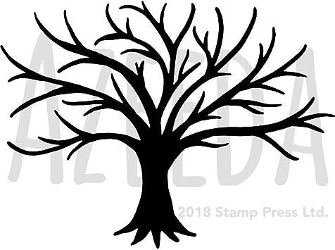 Kostenlose Bastelvorlage Baum