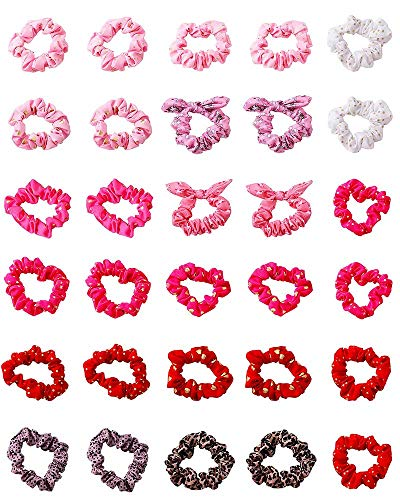 Ohnanana 30 Pieces Small Hair Scrunchies review