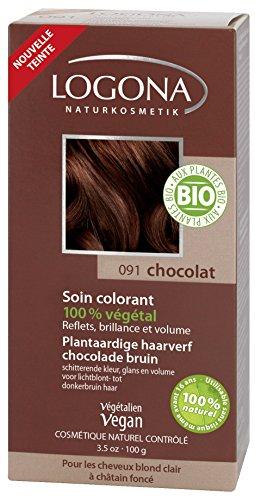 LOGONA Soin Colorant Chocolat 100 g - BIO