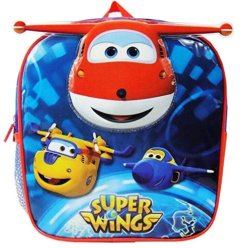 Super Wings MC-04-NG Mochila infantil, 23,5 x 21 x 10 cm