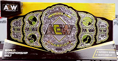 Ringside AEW World Championship - Toy Wrestling Belt by Jazwares Wicked Cool Toys