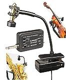 Professional UHF Wireless Instrument Microphone for Saxophone Trumpet Trombone Horn MUSYSIC MU-U1SAX