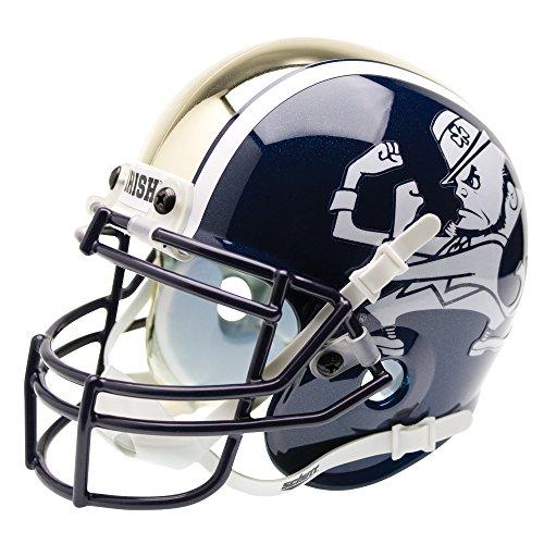 Schutt NCAA Notre Dame Fighting Irish Mini Authentic XP Football Helmet, ALT 1
